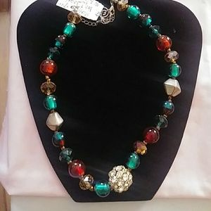 Jewelry - Multicolored , Beaded Necklace